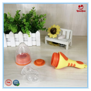 Lovely Torch Shape Baby Food Feeder for Infant BPA Free pictures & photos
