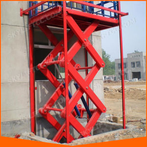 Hydraulic Small Scissor Lift Table pictures & photos