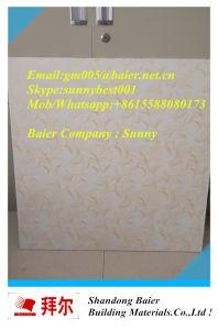 Fashion New Design PVC Laminated Gypsum Ceiling Tiles pictures & photos