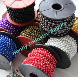 Decorative Colored Metal Ball Chain pictures & photos