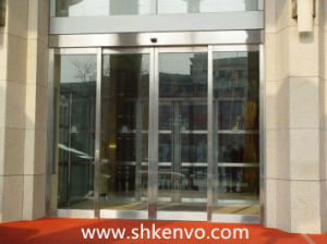 Transparent Automatic Glass Sliding or Swing Door pictures & photos