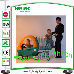 Shopping Mall Kids Trolley for Two Children pictures & photos