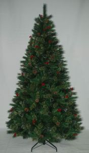 Realist Artificial Christmas Tree with String light Multi Color LED Decoration Berry (AT2115) pictures & photos