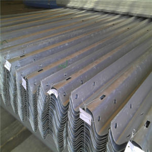 Hot DIP Galvanized Coated W Beam Highway Guardrail Details pictures & photos