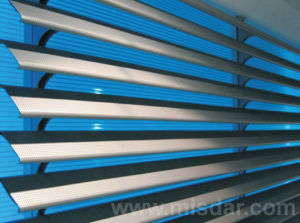 Extruded Louver Window pictures & photos