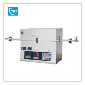 Laboratory High Temperature 1200c Two Heating Zone Electric Tube Furnace Cy-O1200-60iic pictures & photos