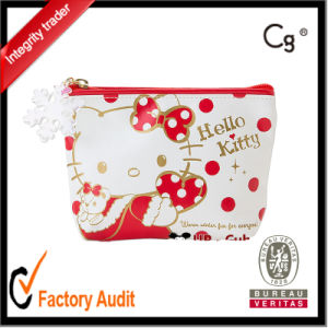 Cute PU Christmas Cosmetic Bags Makeup Bags pictures & photos