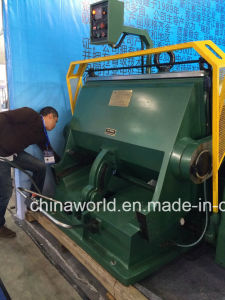 Corrugated Board Creasing and Die Cutting Machine pictures & photos