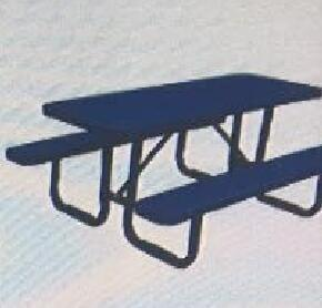 Standard Perforated Metal Picnic Table Metal Fabricated pictures & photos