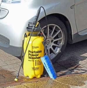 12.5L Water Portable Pressure Manual Car Washer pictures & photos