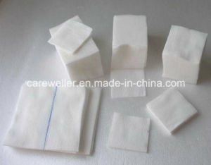 Medical Disposable Absorbent Cotton Gauze Swab W/O X-ray pictures & photos
