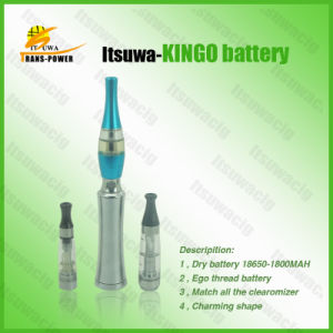 2013 Itsuwa Latest New Design High Quality E Cigarette EGO Battery Kingo Battery