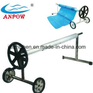 China Aluminium Swimming Pool Cover Reel Roller China Pool Cover Roller Poo Cover Reel