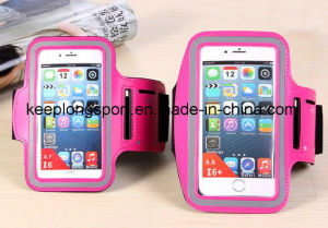 Neoprene +PVC Mobile Phone Case for iPhone6, Neoprene iPhone6 Armband Case