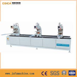 PVC Door Welding Machine in Jinan pictures & photos