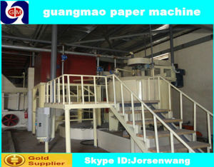Tissue Paper Machine 3200mm, Capacity 30-35ton Per Day, Bagasse Pulp, Waste Pulp pictures & photos