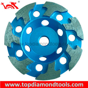 Grinding Cup Wheel with T-Shaped Segments pictures & photos