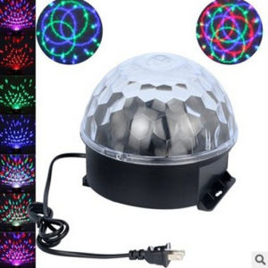 LED Sound Stage Lights with MP3 and Remote Controller, with Magic Ball Effect Light Lamps for KTV