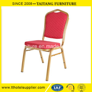 Hotel Dining Chair Gold Frame Banquet Chair pictures & photos
