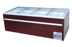 Combined Island Freezer Used for Meat and Fish pictures & photos