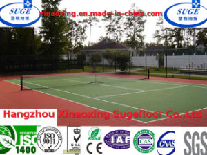 Anti Static with CE Approval Tennis Court Flooring pictures & photos