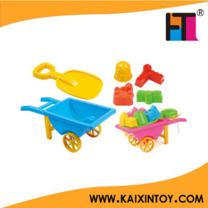 10214414 6 PCS Funny Beach Toys Cart pictures & photos