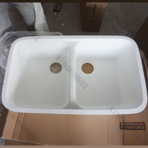 China Acrylic Solid Surface Kitchen Undermount Sink Kkr