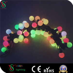 23mm Multicolor Ornaments Connectable Small Ball String Lights Wedding Decoration pictures & photos