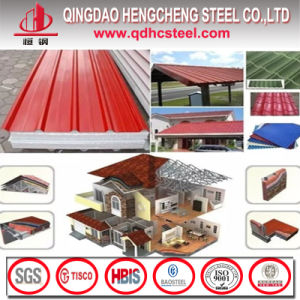 Cold Rolled PPGI Corrugated Iron Roofing Sheet for Roof Tiles pictures & photos