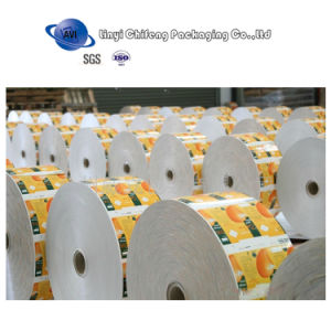 Custom Printing Milk Film for Packing Milk Liquid pictures & photos
