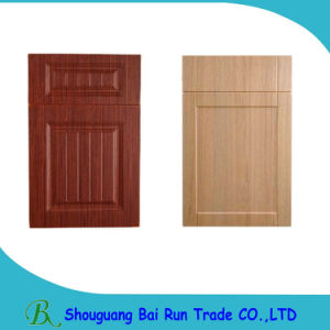 Kitchen Furniture PVC Film MDF Core Cabinet Door pictures & photos