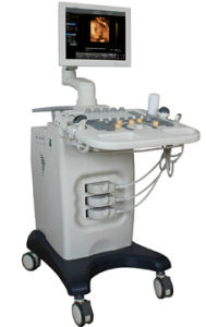 Hot Selling Trolley Type Color Doppler Ultrasound Color Digital Scanner at Low Price pictures & photos