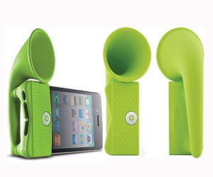 Silicone Mobile Phone Holder for Loud Speaker pictures & photos