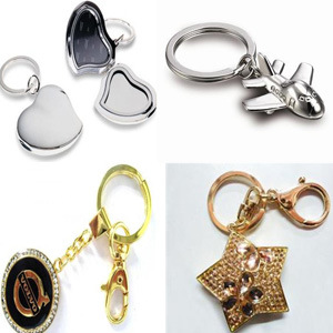 2014 New Design 3D Die Casting Gold Silver Zinc Alloy Photo Keychain for Promotion (Gzhy-Kc-004) pictures & photos