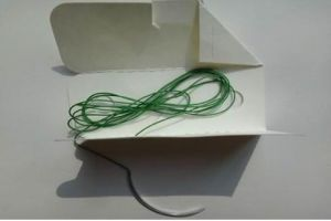 Medical Supply, Surgical Suture Polyester Braided pictures & photos