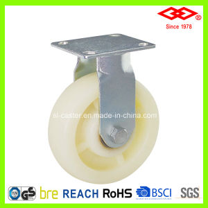 4 Inch Fixed Plastic Heavy Duty Caster Wheel (D741-20F100X40) pictures & photos