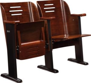 Church Chair Chapel Seat Wooden Hall Chairs Auditorium Chair pictures & photos