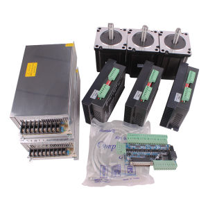 China 3 axis cnc kit nema 34 stepper motor driver for 3 axis servo motor kit
