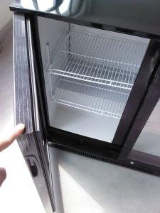 Stainless Steel Beverage Bottle Display Refrigerator (DBQ220SO2) pictures & photos