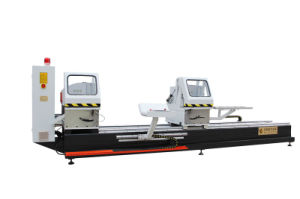Double-Head Precision Cutting Saw Ljz2-500X4200-CNG / Door Window Making Machine / Window Frame Cutting Saw pictures & photos