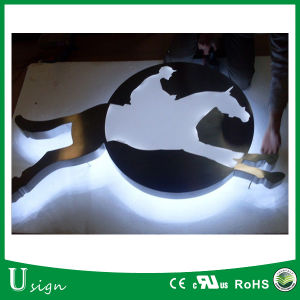 Customized Halolit LED Stainless Channel Letters with Acrylic Backing pictures & photos