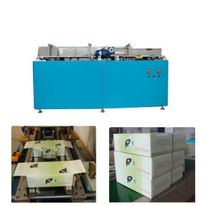 Manual Feeding Automatic Gluing Box Sealing Machine for Packing Facial Tissue Paper pictures & photos