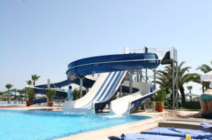 Small Water Slide in Hotel pictures & photos