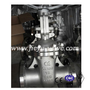 DIN Stainless Steel CF8/304 Rising Stem Gate Valve pictures & photos