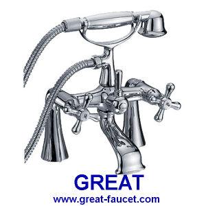High Feet Bathtub Faucet / Shower Faucet (GL37113X10) pictures & photos