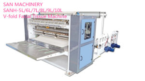 Automatic Inter-Folded Facial Towel/Facial Tissue Folding Machine, Tissue Paper Making Machine/V Fold Facial Tissue pictures & photos