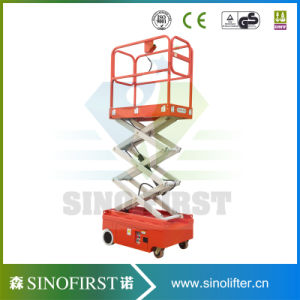 3.0m to 4.0m Mini Small Compact Scissor Lift pictures & photos