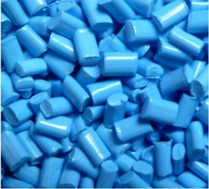 Blue PA Modified Plastic for Auto Parts pictures & photos