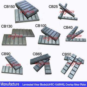 Bimetallic ASTM A532 Chrome Cast Wear Buttons pictures & photos