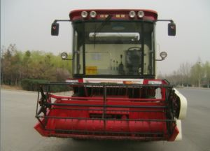 Wheel Type Best Price for Mini Combine Harvester pictures & photos